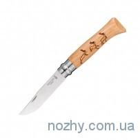"Нож Opinel №8 ""Олень"""