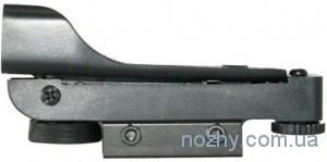 фото Прицел коллиматорный ZOS 1х20х30 с креплением узким на ласточкин хвост цена интернет магазин