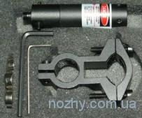 Лазерный целеуказатель LASER SCOPE с красной точкой, с креплением на ствол (кнопка)