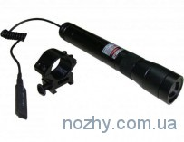 Лазерный целеуказатель (зеленый лазер) мощность 30mW, провод