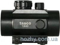 Прицел коллиматорный Tasco 1х40 с креплением узким на ласточкин хвост