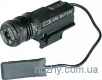 Лазерный целеуказатель LX GD с красной точкой, с быстросъемным креплением широким на планку Weaver