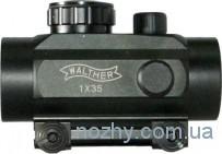Прицел коллиматорный 1х35 Walther с креплением узким