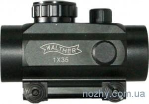 фото Прицел коллиматорный 1х35 Walther с креплением узким цена интернет магазин