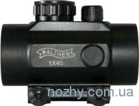 Прицел коллиматорный 1х40 Walther с креплением узким