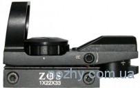 Прицел коллиматорный ZOS 1х22х33 с креплением узким на ласточкин хвост