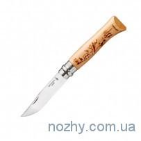 Нож Opinel №8 «Олень и кабаны»