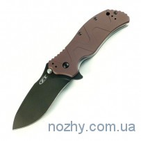 Нож ZT 0350 Aluminum Handle Brown