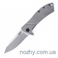 Нож ZT 0801 Flipper Titanium