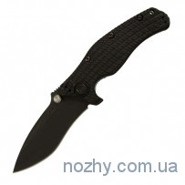 Нож ZT 0200 Matte Black Folder