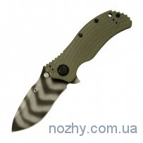 Нож ZT 0301 Ranger Green Folder