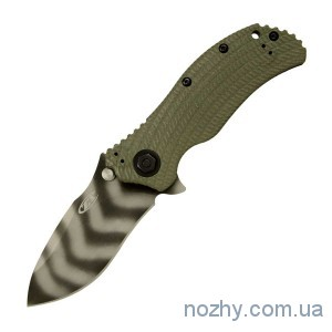фото Нож ZT 0301 Ranger Green Folder цена интернет магазин