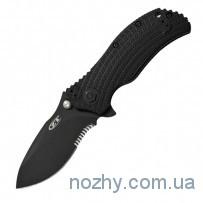 Нож ZT 0300ST All Black Folder