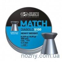 Пули пневматические JSB Diabolo Match S 100