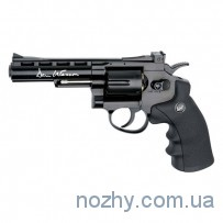 Револьвер пневматический ASG Dan Wesson 4'' Black