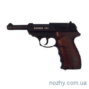 фото Пистолет пневматический Borner С41 Blowback цена интернет магазин