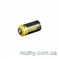 Аккуммуляторная батарея Nitecore RCR123A Li-ion 650 mAh