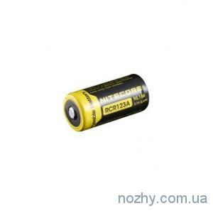 фото Аккуммуляторная батарея Nitecore RCR123A Li-ion 650 mAh цена интернет магазин