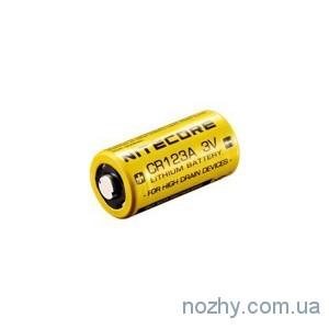 фото Батарея Nitecore CR123 1550 mAh цена интернет магазин