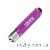 Фонарь Nitecore Т0 пурпурный
