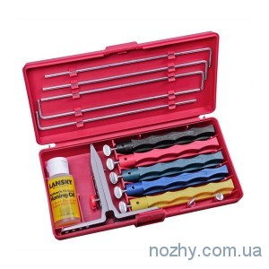фото Точило Lansky Deluxe Knife Sharpening System цена интернет магазин