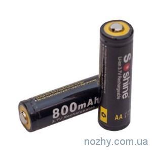 фото Аккумуляторная батарея Soshine LiPo 14500 3.7V 800mAh цена интернет магазин