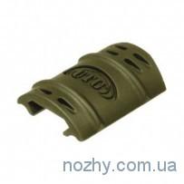 Набор (12 шт) защитных накладок UTG (Leapers) на профиль Picatinny
