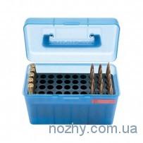 Коробка пластмассовая MTM H50-RS на 50 патронов кал. 222 Rem и 223 Rem