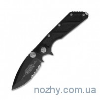 Нож Microtech DOC M/A Black Partial Serrated