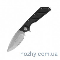Нож Microtech DOC M/A Stonewash Partial Serrated