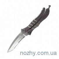 Нож Microtech Metalmark Stonewash Partial Serrated
