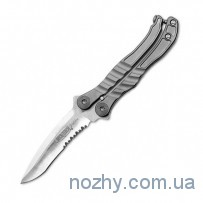 Нож Microtech Metalmark Satin Partial Serrated