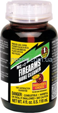 Средство для чистки стволов Shooters Choice MC#7 Bore Cleaner and Conditioner. Объем — 118 мл.
