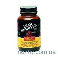 Средство для отчистки ствола от свинца Shooters Choice Lead Remover. Объем — 118 мл.