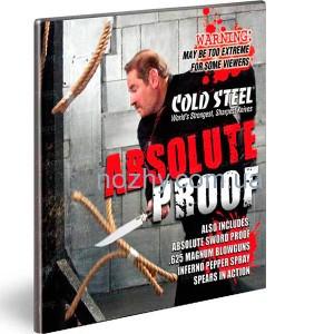 """фото DVD-диск Cold Steel """"Absolute Proof"""" цена интернет магазин"""