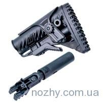 Приклад LHB регулируемый телескопический для AK 47/74