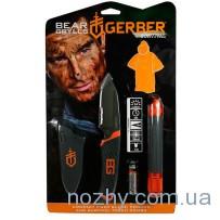 Фонарь+нож+пончо Gerber Bear Grylls 31-002493