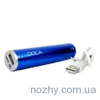 Мобильная батарея DOCA D536Bb 2600mah