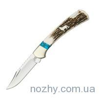Нож Buck 112EKSLE WBC Wolf Series w/Elk Handle