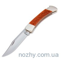 Нож Buck 110BRSLEB Leather Hunter