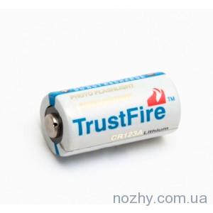 фото Батарея питания CR123TF Trustfire цена интернет магазин