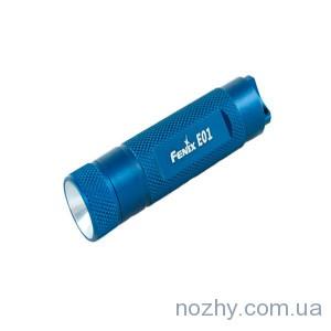 фото Фонарь Fenix E01bl Nichia GS синий цена интернет магазин