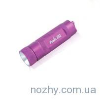 Фонарь Fenix E01p Nichia GS розовый