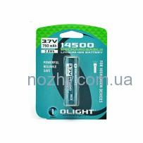 Аккумуляторная батарея Olight 14500 3,7V 750mAh
