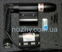ЛЦУ LaserScope 501 креплением 21мм и подствольным (провод/кнопка) зеленый
