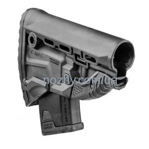 фото Приклад FAB Defense GK-MAG Survival Buttstock для АК без адаптера. Цвет - черный цена интернет магазин