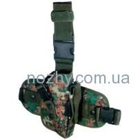 Кобура Leapers UTG Special Ops Universal камуфляж Woodland Digital