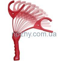 Ручная металка стендовых тарелочек MTM EZ-Throw 3 (на 1 шт.). Материал – пластик. Цвет – красный