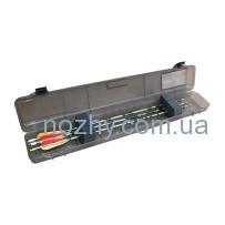 Кейс пластмассовый MTM Ultra Compact Arrow Case для 12 стрел. Размеры – 84х15х8 см. Цвет – черный