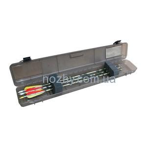 фото Кейс пластмассовый MTM Ultra Compact Arrow Case для 12 стрел. Размеры – 84х15х8 см. Цвет – черный цена интернет магазин
